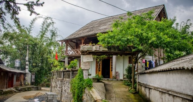Homestay in Ta Van Village outstide of Sapa, Vietnam.